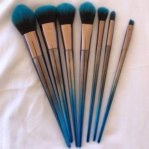 Other - Space Dye Makeup Brush Set